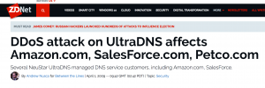 Article on the 2009 UltraDNS DDOS Attack